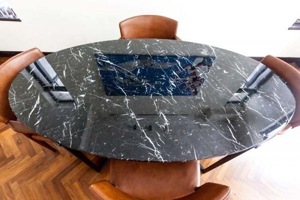 Teddy Oval Dinning Table-4 (Medium)