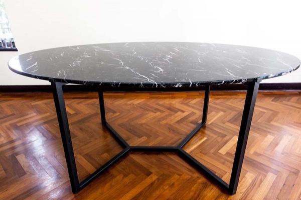Teddy Oval Dinning Table-5 (Medium)