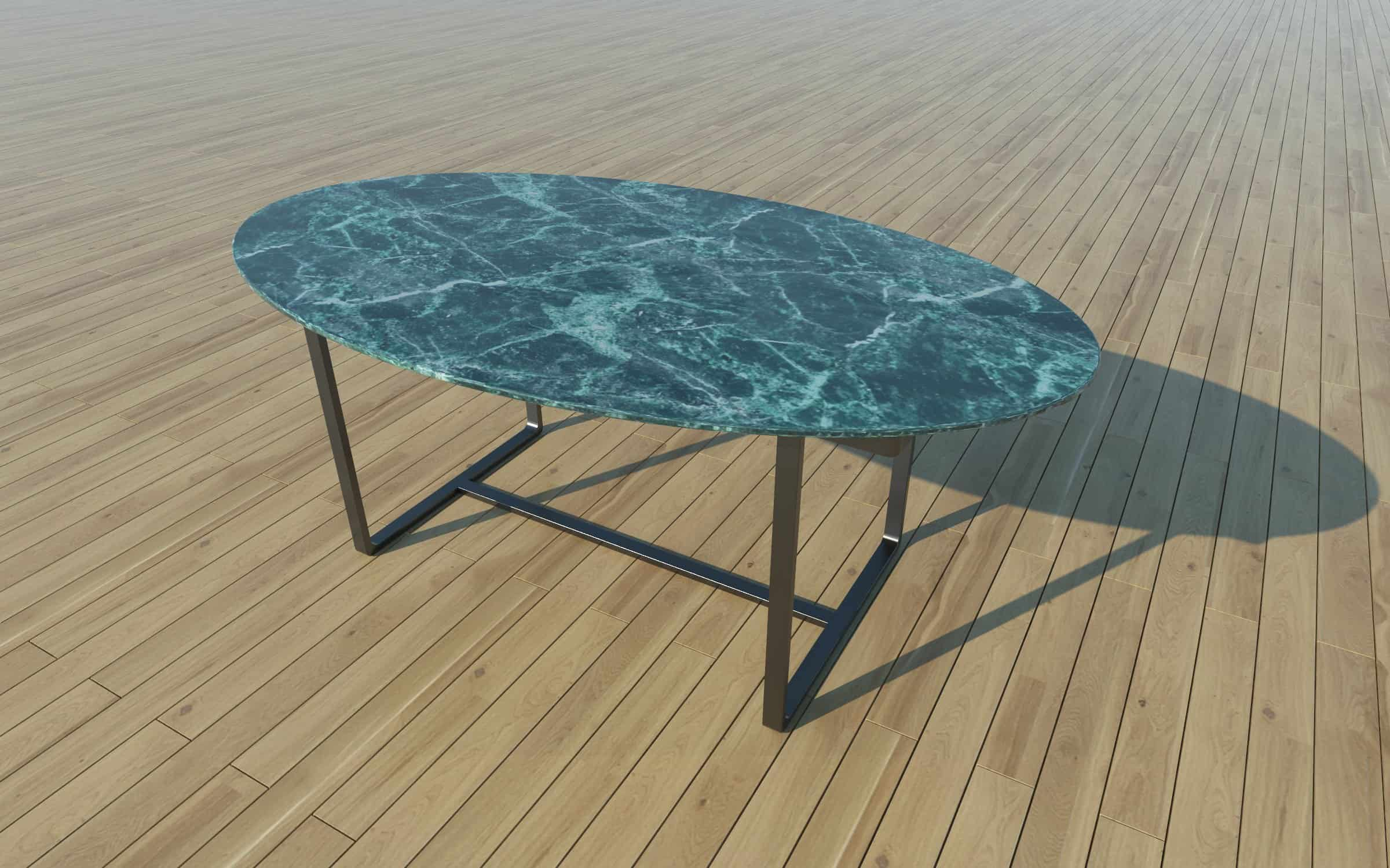 Jerry Dining Table Black Old Green Marble Nordst